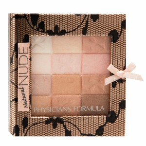 Physicians Formula Shimmer Strips All-in-1 Custom Nude Palette for Face & Eyes, Natural