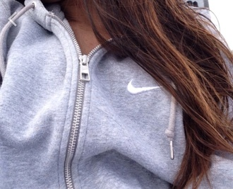 sweater grey zip up nike sweater jacket grey nike white vest gray hoodie