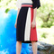 Red, white and blue gigi skirt by tanya taylor | moda operandi
