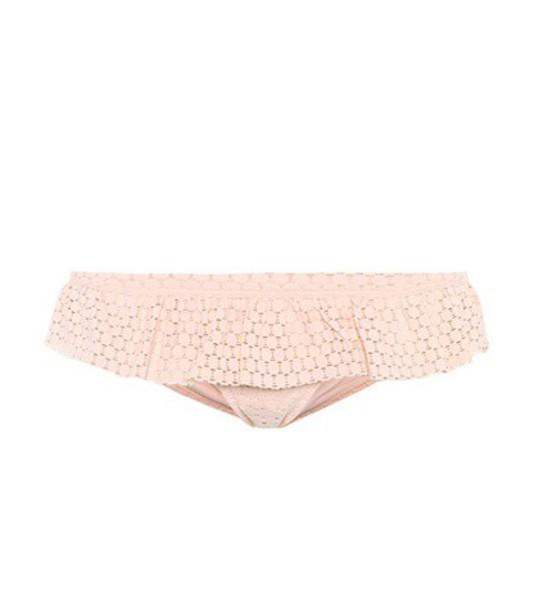 Melissa Odabash bikini bikini bottoms pink swimwear