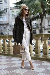 lovely pepa,shirt,coat,pants,shoes,bag,hat,sunglasses,jewels,sweater,jeans,loewe bag