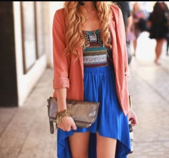 skirt high low skirt coat underwear