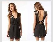 dress,urban outfitters,little black dress