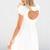 SABO SKIRT  Heart Back Dress - Off White - 48.0000
