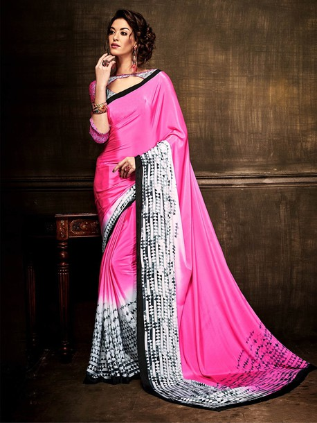 blouse casual saree printed saree buy sarees online