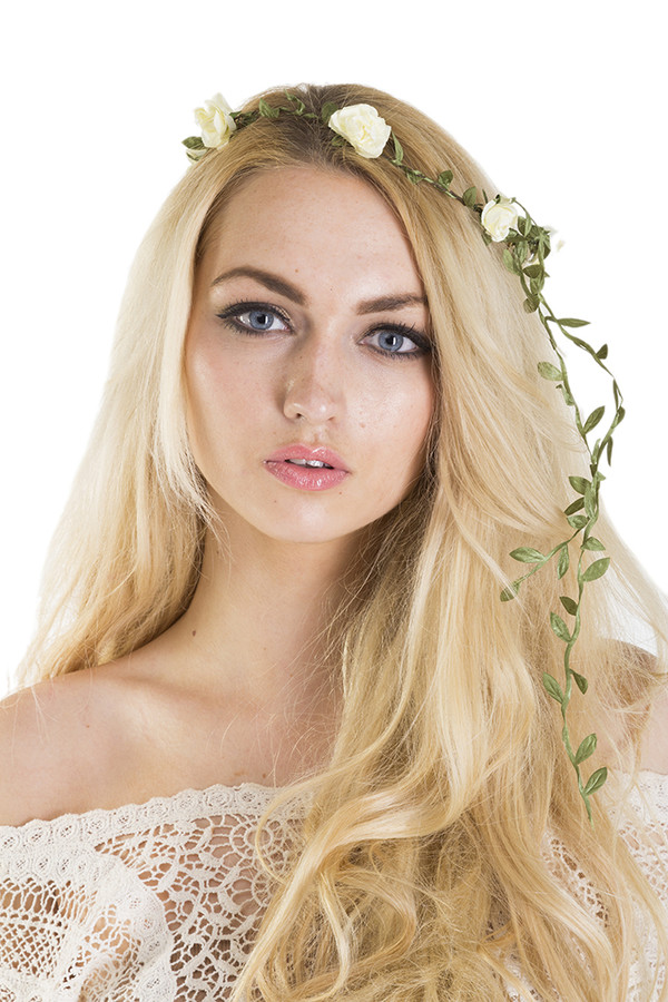 hair accessory xirl summer flower crown floral