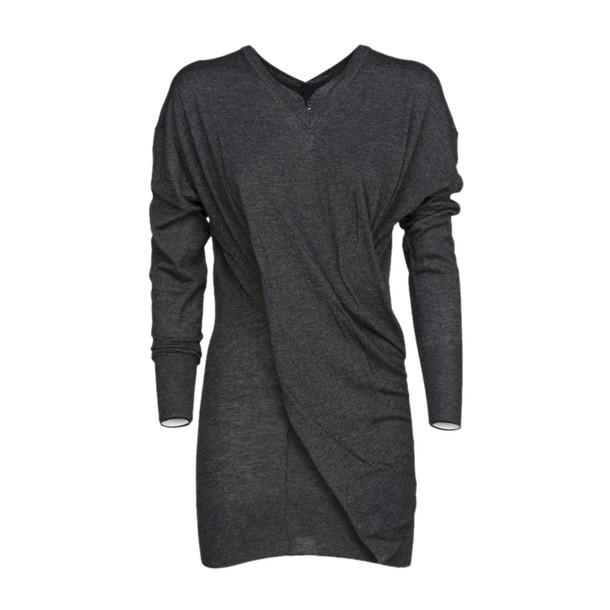Isabel Marant etoile top asymmetrical top asymmetrical grey