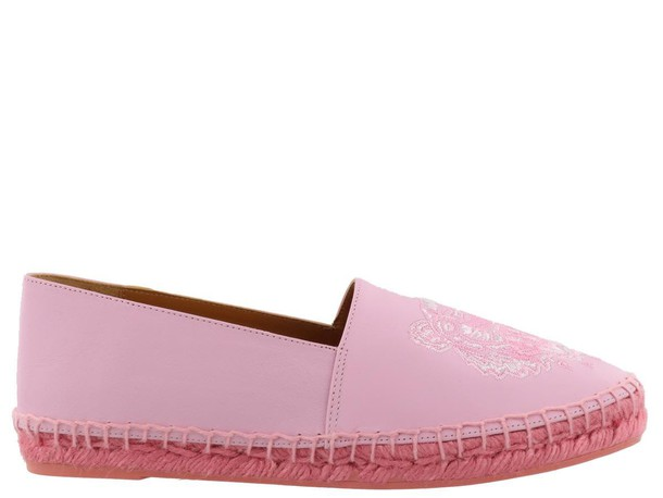 Kenzo tiger espadrilles rose shoes