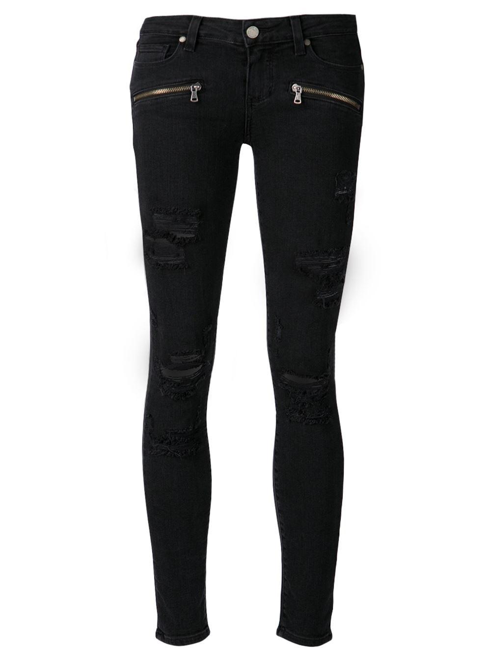 Paige 'ramone' ultra skinny jeans