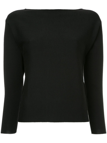 Des Pres jumper women black wool sweater