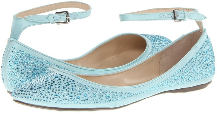 Blue by Betsey Johnson - Joy (Blue Satin) - Footwear | Idressin
