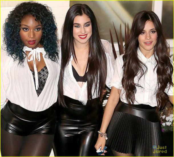 blouse Normani Kordei Hamilton white shirt