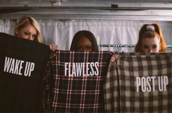 blouse shirt beyonce flawless flannel post up wake up badass sweet girly light pink nice flannel shirt beyoncé shirt sweater jacket t-shirt