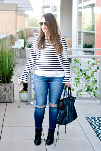 currentlycoveting blogger jeans sweater shoes bag