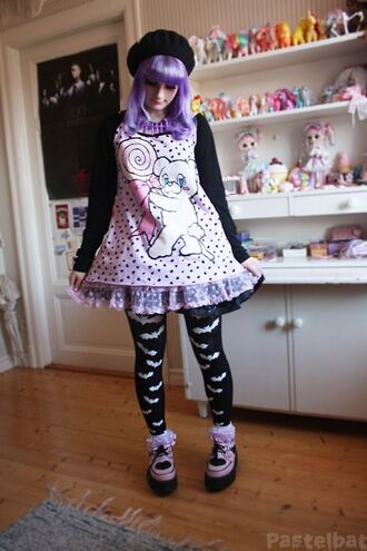 dress pastel goth kawaii kawaii grunge kawaii dress pastel