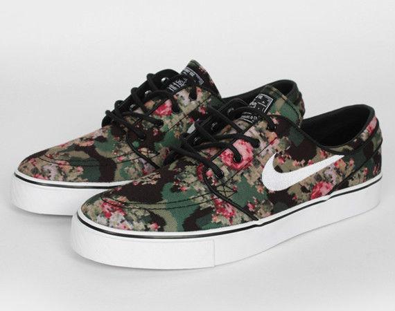 "Nike SB Zoom 9 5 US Stefan Janoski Premium ""Floral Digi Camo"" 482972 900 Supreme | eBay"