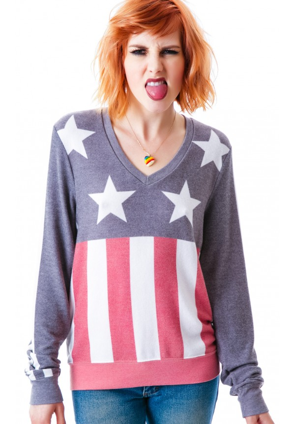 Wildfox couture stars & stripes v