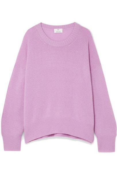Allude sweater lilac