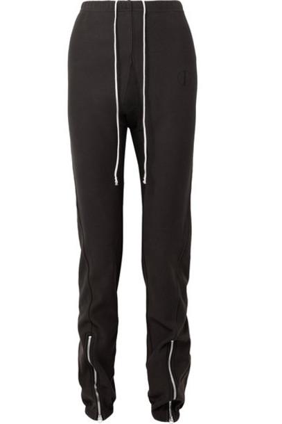 Tre pants track pants cotton black