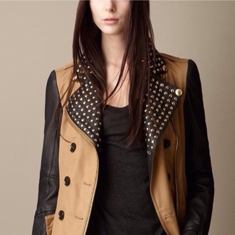 jacket burberry coat