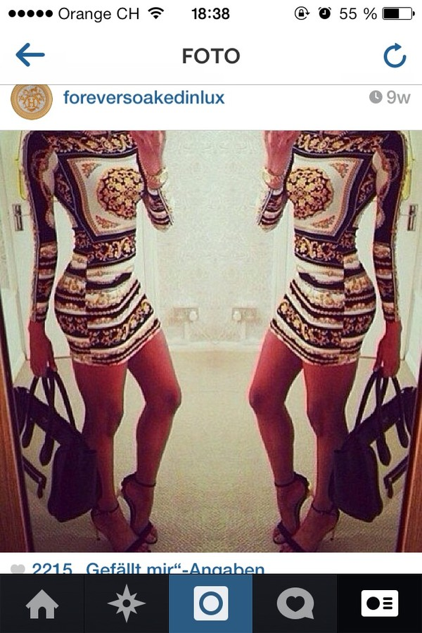 dress little black dress gold gorgeous pattern