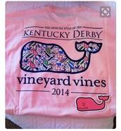 shirt,vineyard vines,pink t-shirt