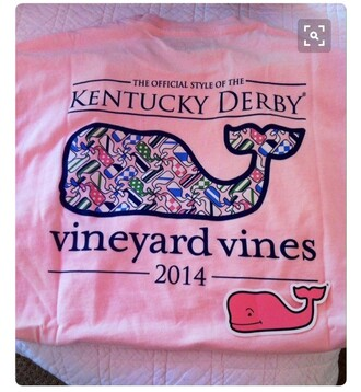 shirt vineyard vines pink t-shirt