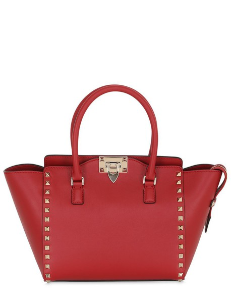 Valentino bag leather red
