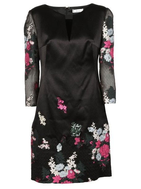 Blumarine dress jacquard floral