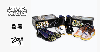 shoes zooji footwear flats oxfords star wars fashion
