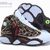Air Jordan 13 Kids Leopard Print Chocolate - $64.90