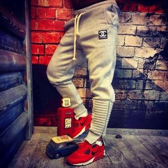 jumpsuit bottoms tracksuit bottoms grey tracksuit