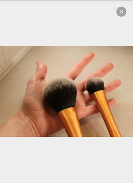 Make Up Real Technique Expert Face Brush Powder Brush Wheretoget