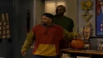 80s style 90s style menswear red yellow hoodie mens sweater bel air mens hoodie