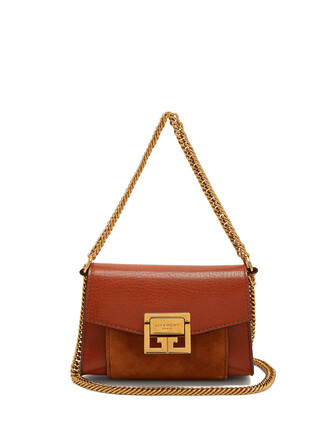 belt bag bag leather suede brown