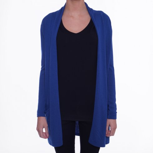 Biancoghiaccio | Blue Knit Cardigan - Biancoghiaccio from Mr & Mrs Stitch UK