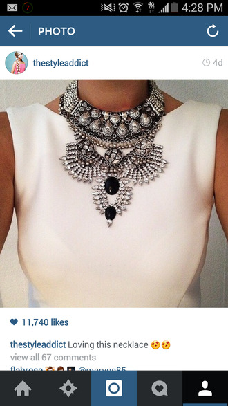 jewels statement necklace necklace silver necklace silver statement jewelry