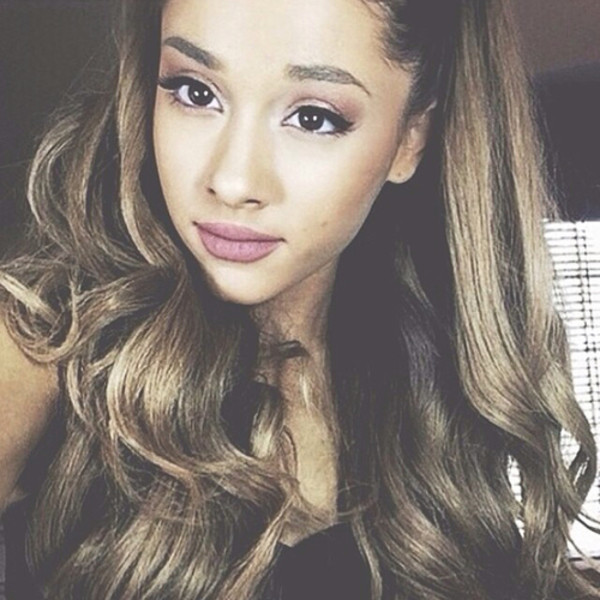 make-up lips mauve asap ariana grande