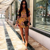dress,floral dress,floral mini dress,mini dress,belted,belted dress,beach dress,beach,vacation dress,floral belted dress,long sleeves,long sleeve dress,ootd,ootd share,style me,summer prints,summer beauty,blogger,yellow,yellow dress,print,printed dress,floral,vacation outfits,vacation dresses,style,summer,summer dress,summer outfits,summer accessories,blogger style,fashion