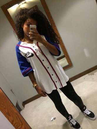 blouse baseball jacket