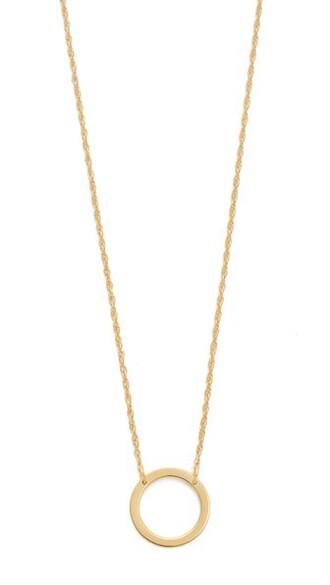 open necklace gold jewels