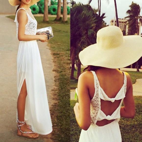 bows white dress lace dress laced dress