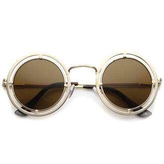 sunglasses round metal metal frames steampunk sunglasses round sunglasses steampunk