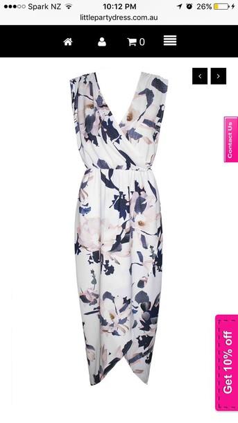 jumpsuit floral dress summer dress