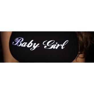 shirt black shirt tank top baby girl black