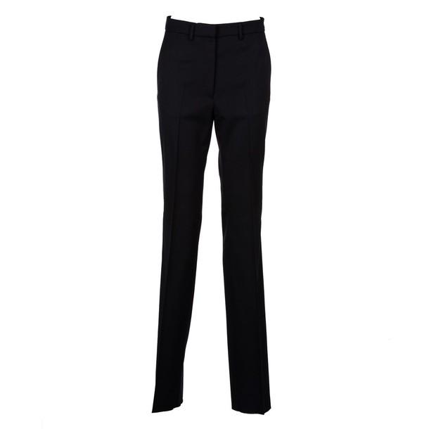 pants wool blue