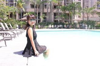 sunglasses los angeles pool eyewear fashion pretty woman summer fall outfits