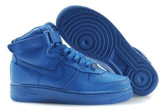 nike air force 1 men high all royal blue. Black Bedroom Furniture Sets. Home Design Ideas