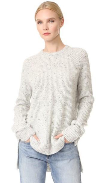Baja East sweater light grey