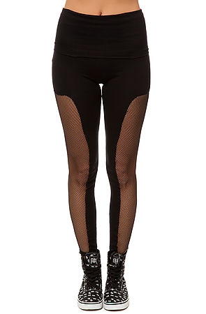 BOTB by Hellz Bellz Leggings The Bout It in Black -  Karmaloop.com